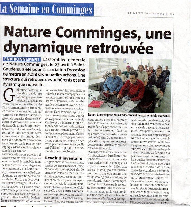 compr article La Gazette du 4 MAI 16